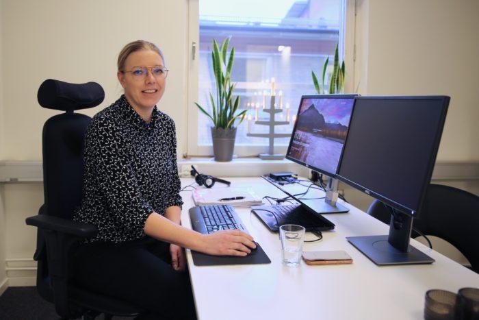 Ann Vikström, platschef vid Nolia i Piteå och Skellefteå.